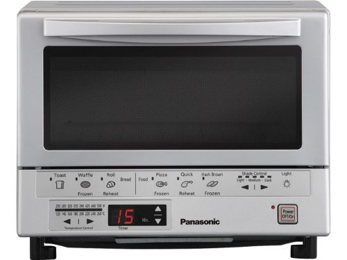 7. Panasonic NB-G110P Flash Xpress Toaster Oven