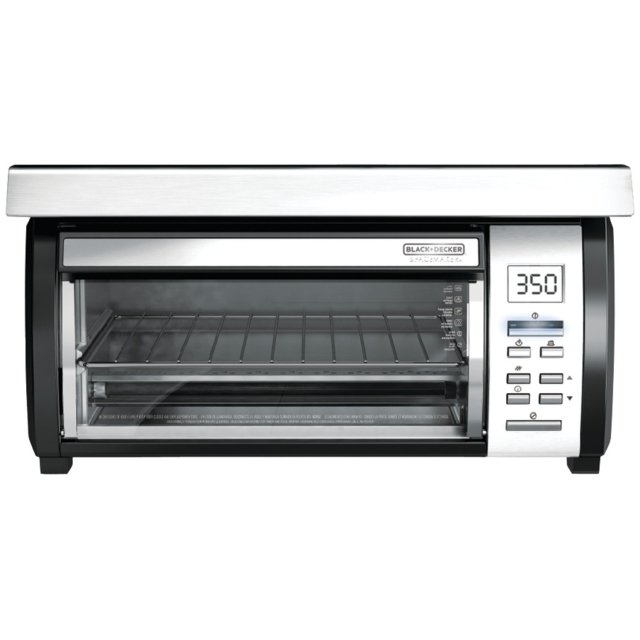9. Black & Decker TROS1000 SpaceMaker Digital Toaster Oven