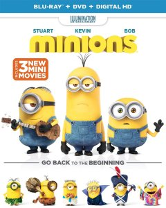 9. Minions DVD Movies