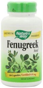 9. Nature's Way Fenugreek Seed 610 mg