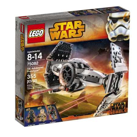 3.LEGO Star Wars TIE Advanced Prototype Toy