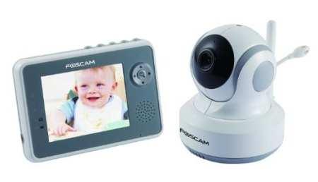 5. Foscam Wireless Digital Video Baby Monitor