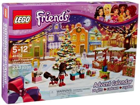 5.LEGO Friends 41102 Adventure Calendar Building Kit