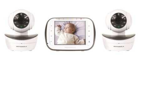 9. Motorola Digital Video Baby Monitor