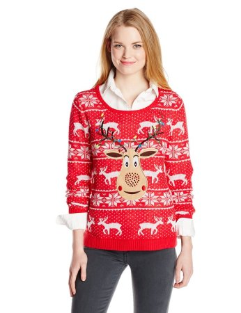 3.Top 10 Best Christmas Hat Sweater 2015