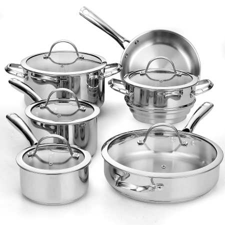 10.Top 10 Best Stainless Steel Cookware Set Review in 2016