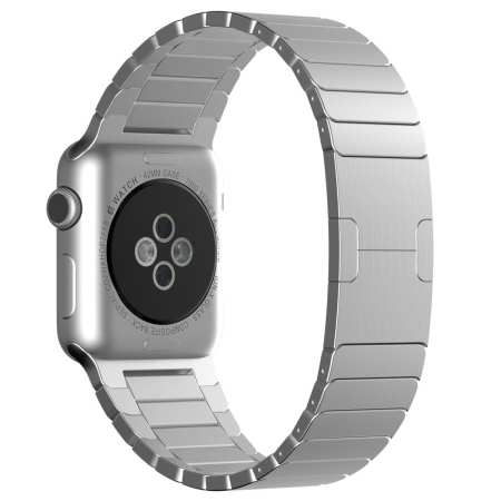 3.Apple Watch Band, JETech Stainless Steel Link Bracelet with Butterfly Closure Replacement Band