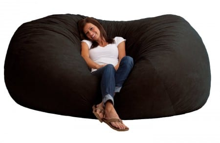 bean bag chairs amazon velvet chair pads the best large for adults in 2018 - top 10 review of