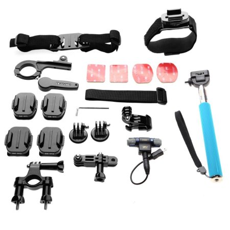 5.The Best GoPro Mounts Kit Review 2016