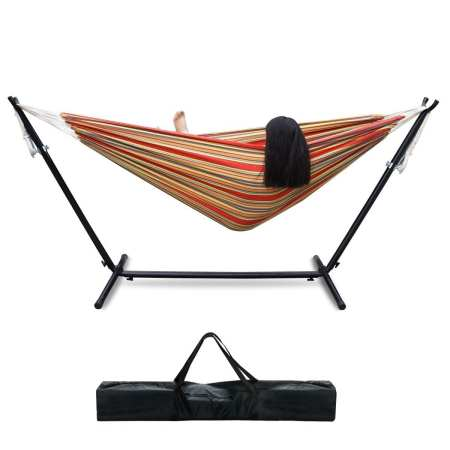5.Top 10 Best Hammock with Space-Saving Steel Stand Review