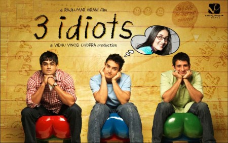 4. 3 Idiots Bollywood Movies