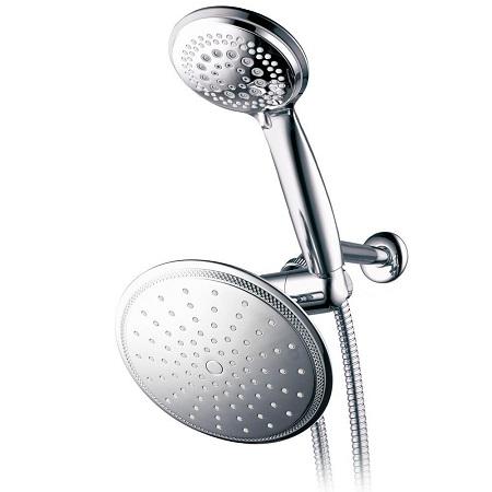 8. DreamSpa 1432 3-way Rainfall Shower-Head and Handheld Shower