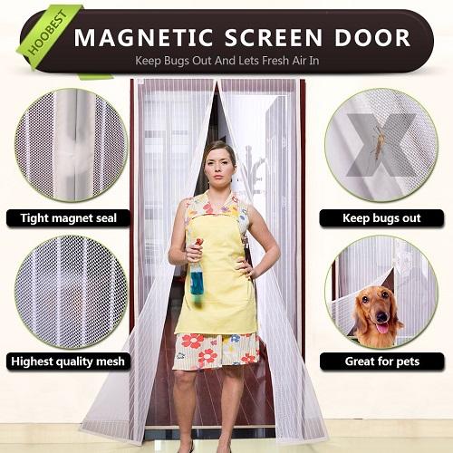 Hoobest Magnetic Screen Door