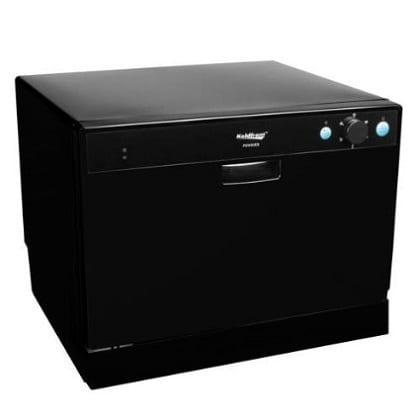 5-koldfront-6-place-setting-portable-countertop-dishwasher