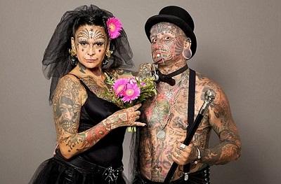 Unique Celebrity Couples