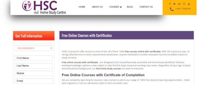 Learn Online Courses Free