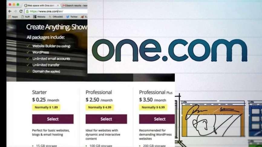 كوبوناستضافة One.com