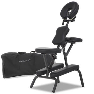 Portable Massage Chairs Tattoo Chair Therapy Chair 4 Inches Thickness