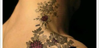 Top Ten Latest Wild Girls Back Side Tattoos Designs