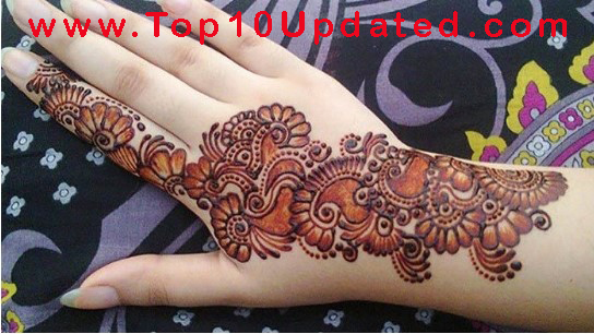 Stylish Henna Fashion Designs Best Stylish Henna Ideas