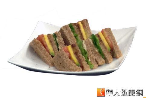 飽足感減重 低卡陽光三明治上桌   華人健康網