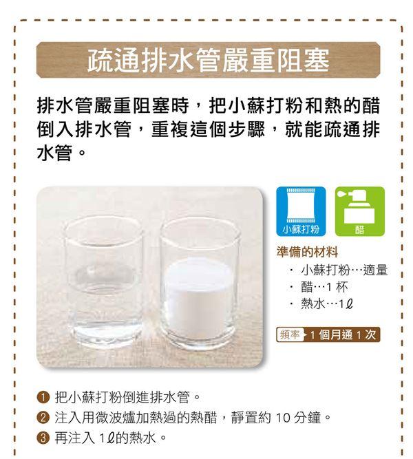 疏通排水管阻塞!家庭主婦必知4小蘇打妙用 | 華人健康網