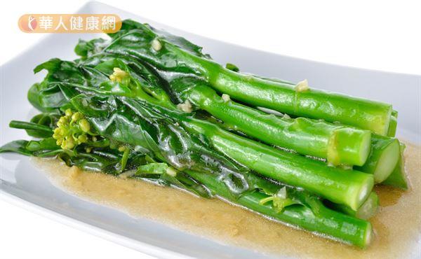 吃芥蘭CP值超高!補鈣,防癌,改善免疫力一把罩   華人健康網