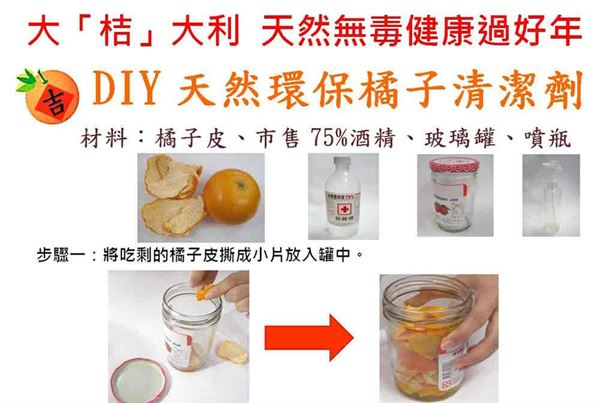 對抗頑強油垢!自製柑橘果皮清潔劑 | 養生保健 | 華人健康網