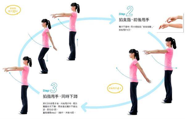 練氣功啟動自癒力!掐指甩手只要15分鐘-華人健康網-良醫健康網