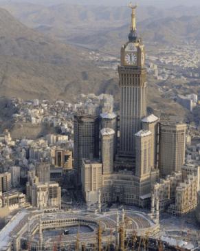 Abraj AL Bait Clock Tower worlds 3rd tallest buillding
