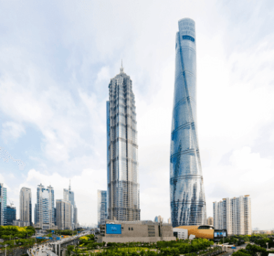 Shanghai Tower worlds 2nd tallest building