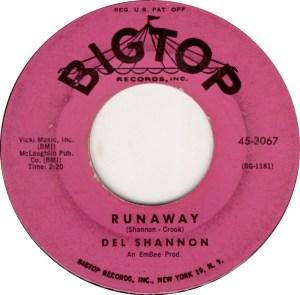 del-shannon-runaway-big-top