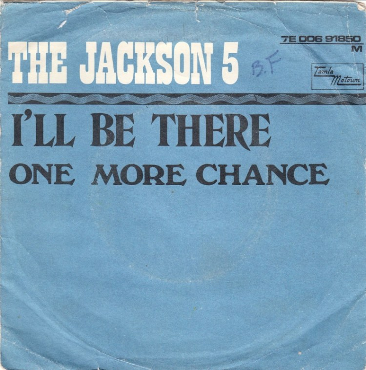 Jackson 5 - I'll Be There record cover