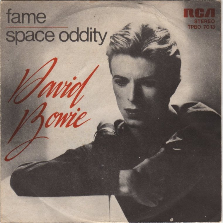 David Bowie Fame record cover