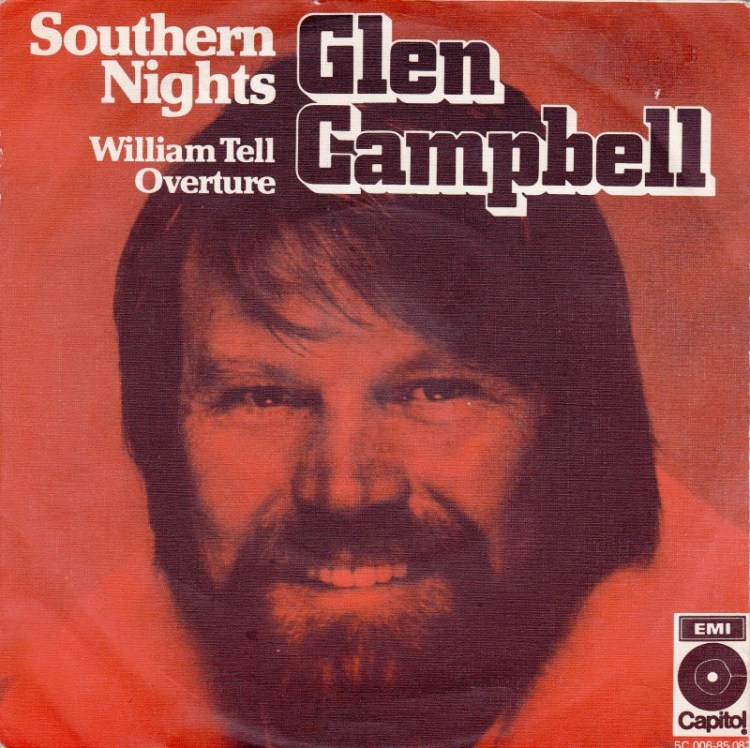 SOUTHERN NIGHTS - Glen Campbell record cover