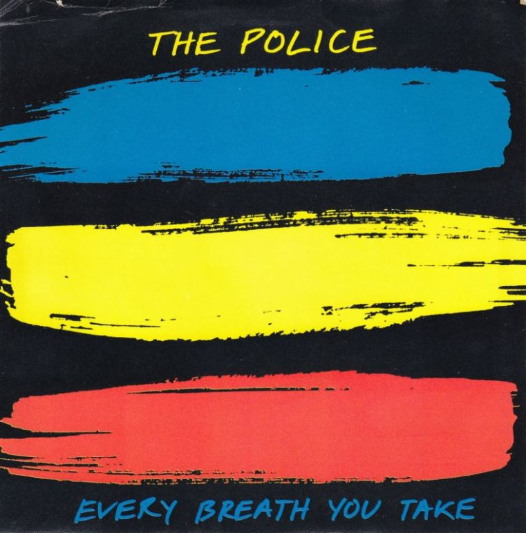 Police every breath you take record cover