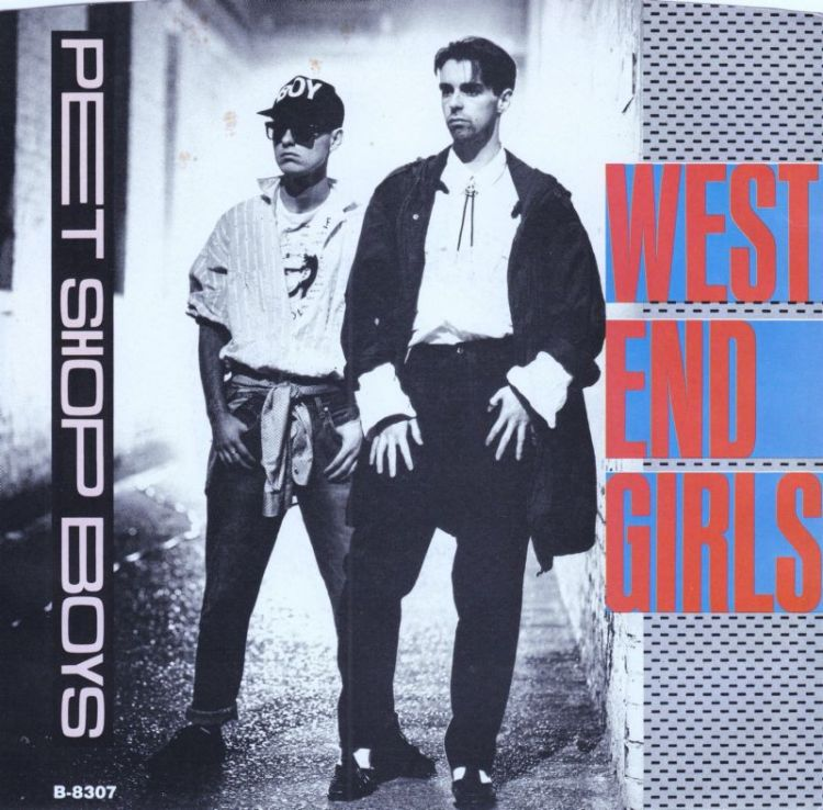 Pet Shop Boys West End Girls record cover