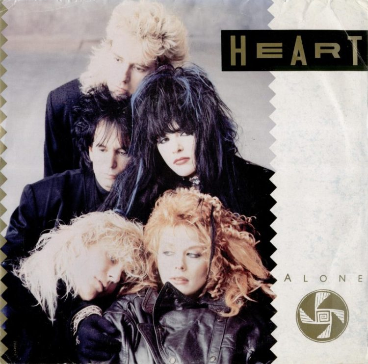 Heart Alone Capitol record cover