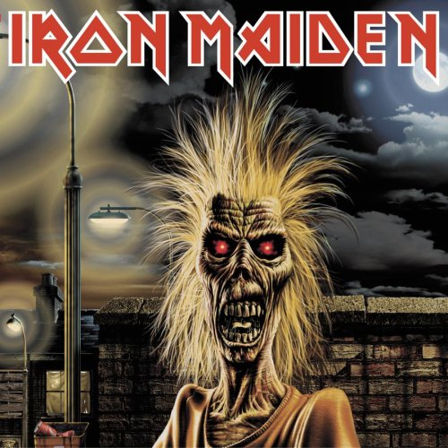 Iron Maiden record cover