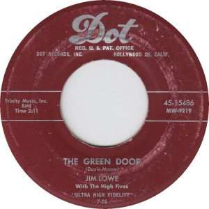 jim-lowe-with-the-high-fives-the-green-door-1956