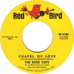 the-dixie-cups-chapel-of-love-red-bird