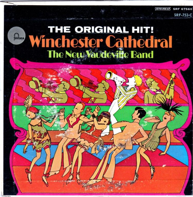 The New Vaudeville Band - Winchester Cathedral record cover