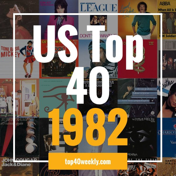 US Top 40 1982 Product Image Cover