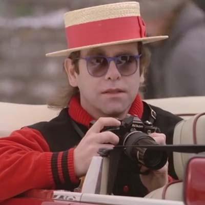 Elton John promo image circa 1980's
