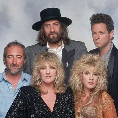 Fleetwood Mac band promo image circa 1980's