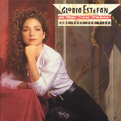 Gloria Estefan and Miami Sound Machine Made Easy For Piano record cover 1987