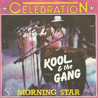 Kool and The Gang 1980's record cover