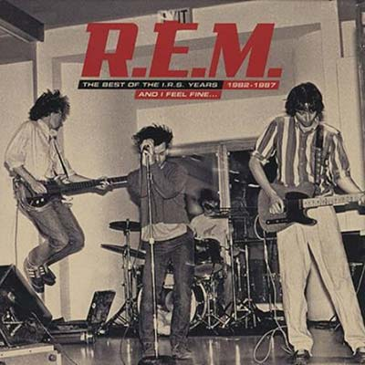 The Best of R.E.M. record cover