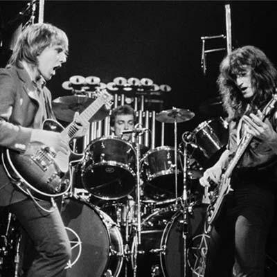 80's band Rush circa 1980's