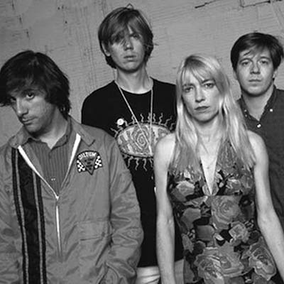 Sonic Youth band promo image circa 1980's